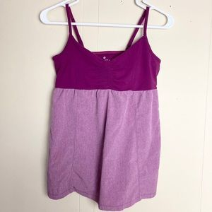 Athleta Bestie Tank Top with Inside Support Small